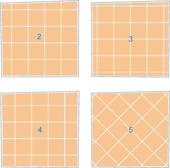 возможные варианты укладки напольной плитки
