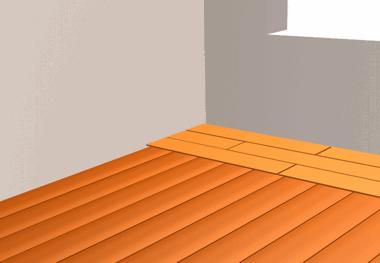Укладка ламината на старый деревянный пол