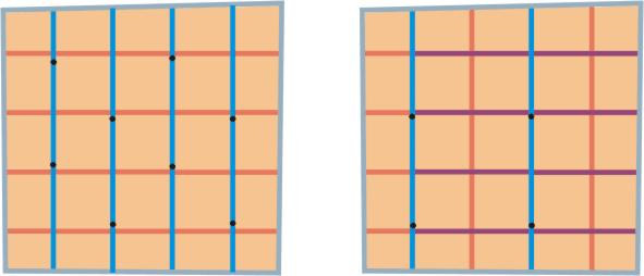 Слева показан вариант каркаса